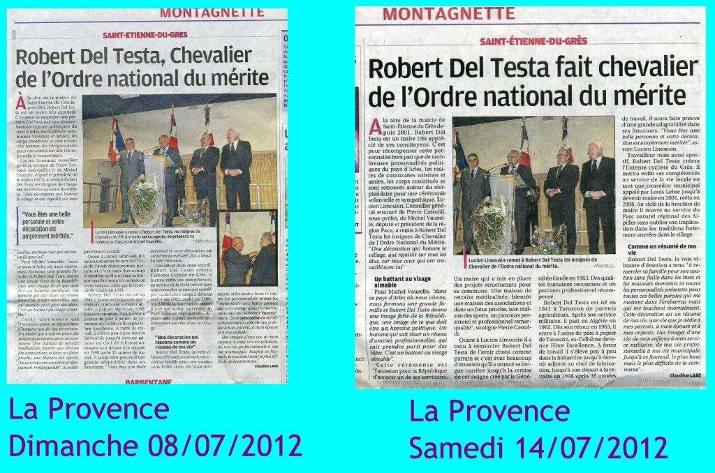 Saint-Etienne du Grès - La Provence  : Répétition pour une remise de médaille dans Critique deltesta003-1024x678