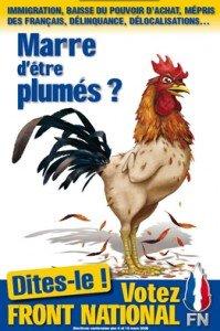 Les Français en faveur d'une dissolution de l'Assemblée dans enquête affichecoqny9-199x300