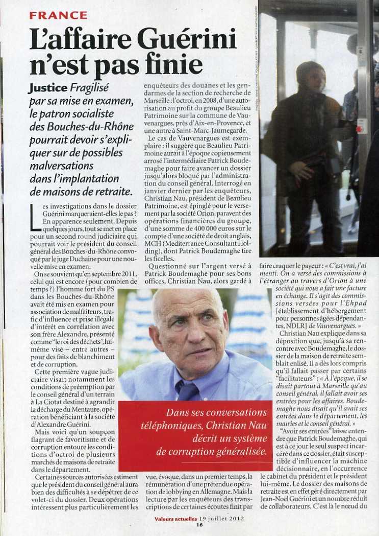 Conseil Général des Bouches du Rhône :