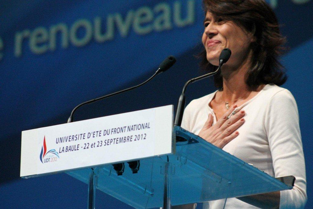 Valérie LAUPIES - Directrice d'école primaire à Tarascon - Conseillère régionale PACA - Membre du Bureau politique du Front National