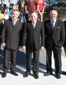 Pierre Castoldi (sous-prefet Arles) - Jean Noël Guérini et son fidèle soutien Lucien Limousin