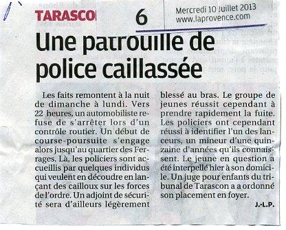 Tarascon : Pas de vacances pour l'insécurité ! dans france tarascon-insecurite001