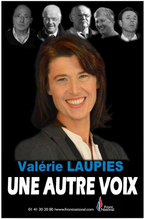 """Valérie LAUPIES dévoilera samedi 8 février 2014 en conférence de presse la liste """"Tarascon Bleu Marine"""""""