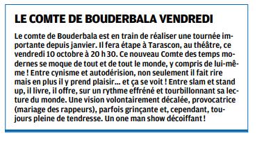 La Provence 06/10/2014