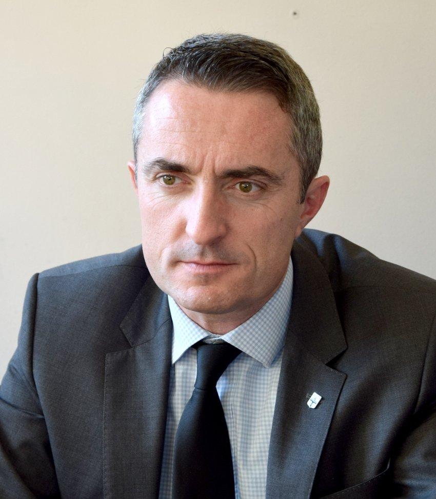 Le leader local <b>Stéphane Ravier</b> espère profiter du nouveau scrutin pour <b>...</b> - dsc_01681