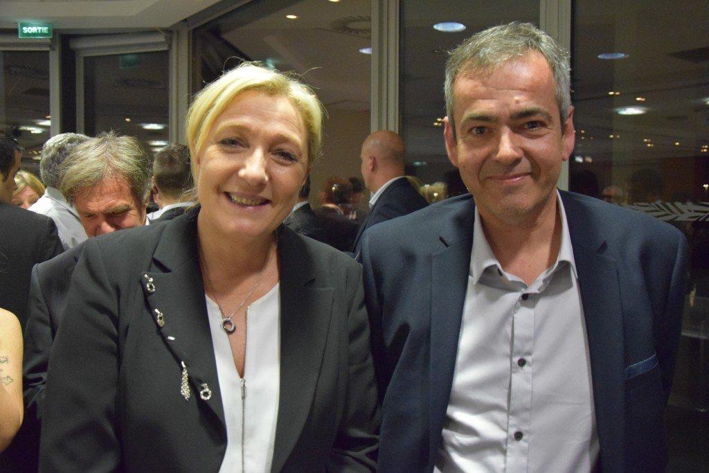 Marine LE PEN et Frédéric LAUPIES
