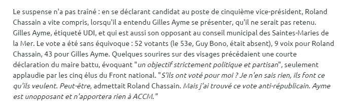 La Provence 17/04/2014 (extrait -cliquez pour lire l'intégralité de l'article)