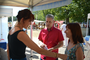 Valérie Laupies et Emmanuel Fouquart conseiller régional PACA (FN)