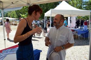 Avec Frédéric Boccaletti conseiller régional et secrétaire départemental FN du Var