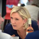 Marine Le Pen au déjeuner