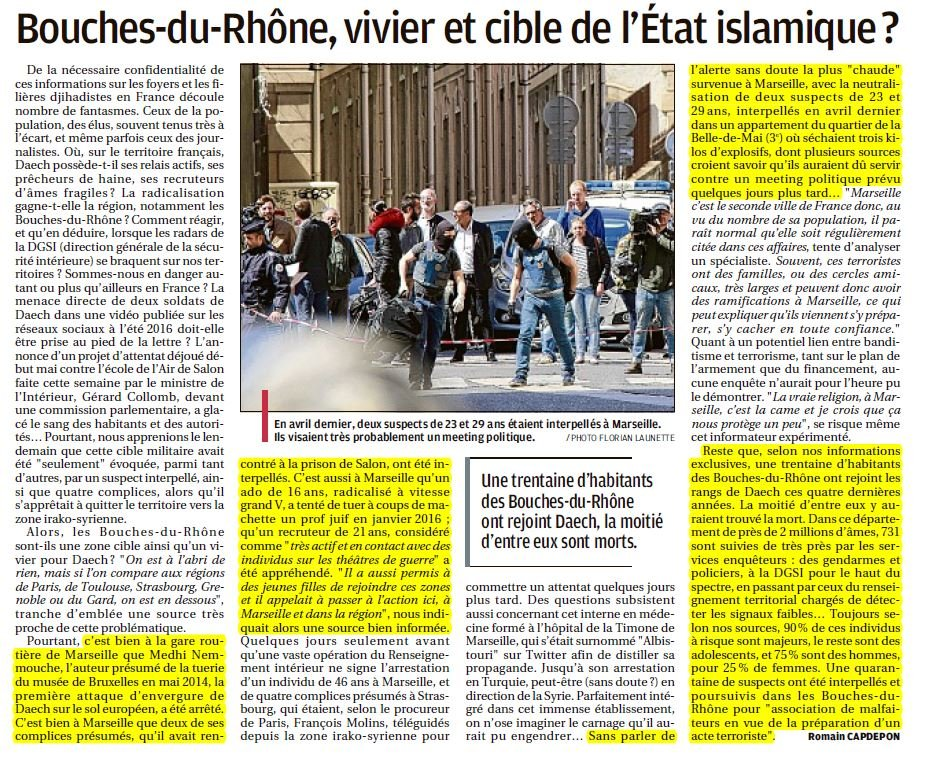 bouches du Rhône islamisme